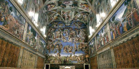 Une immense fresque de sainteté